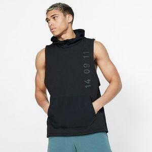 Nike Therma Tech Pack Sleeveless Hooded Vest Black